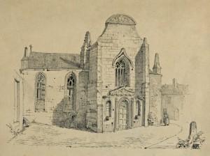 Façade du XVIIe siècle