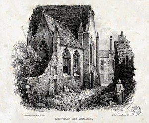 Chapelle de Minimes en 1837