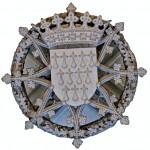 Clé de voûte, armoiries de Bretagne