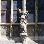 Détail de la façade avant travaux