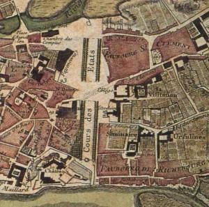Plan de Nantes 1766