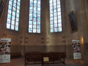 Vue générale de la chapelle