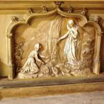 Devant de l'autel