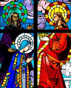 Dieu le Père, Jésus et Marie